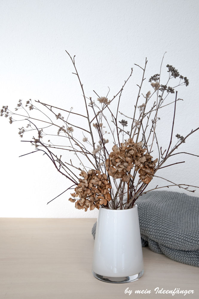 Deko Morbider Gartenstrauch Verwelkte Hortensien Mein