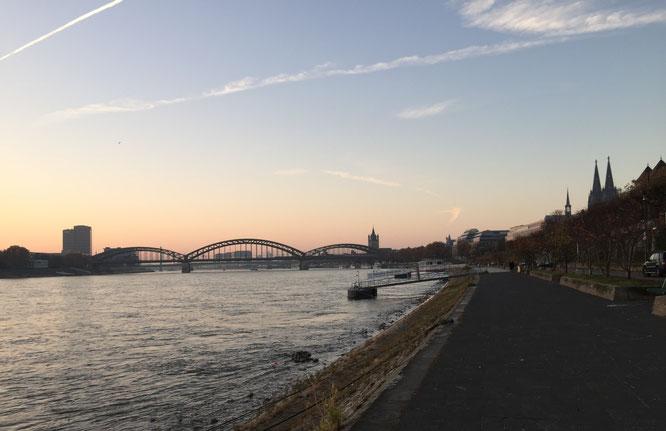 Rheinufer von Köln