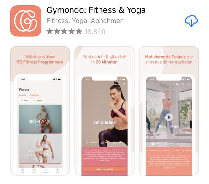 Gymondo-App