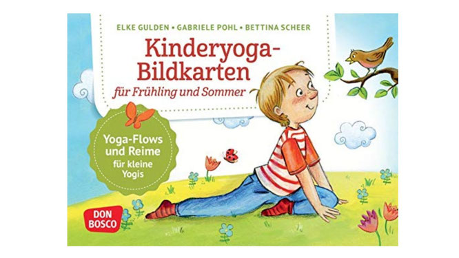Bildkarten für Kinderyoga