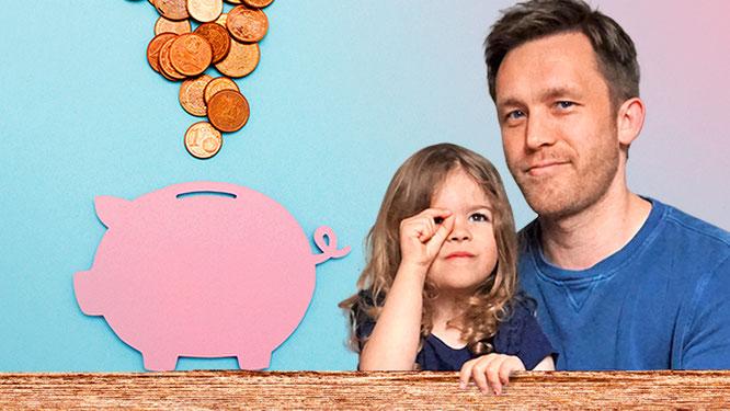 Sebastian Priggemeier und seine Tochter