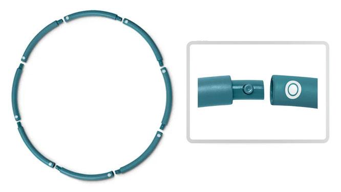 Hula-Hoop-Reifen von Tchibo zerlegbar