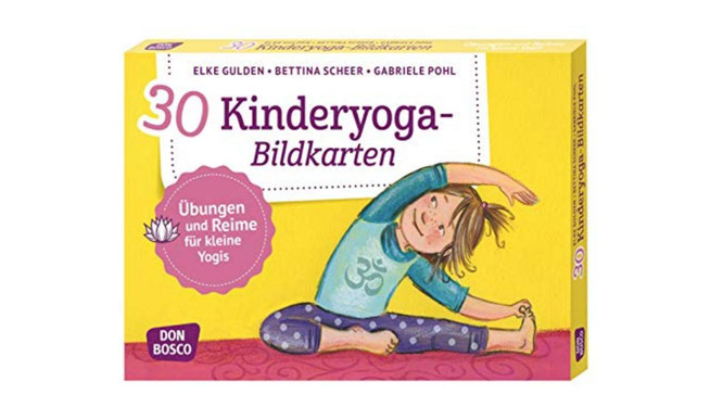 Kinderyoga-Bildkarten bei Amazon