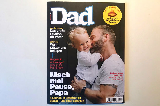 Zeitschrift Men's Health Dad