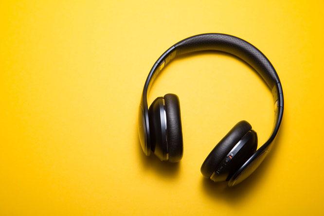 Kopfhörer für die Abend-Routine