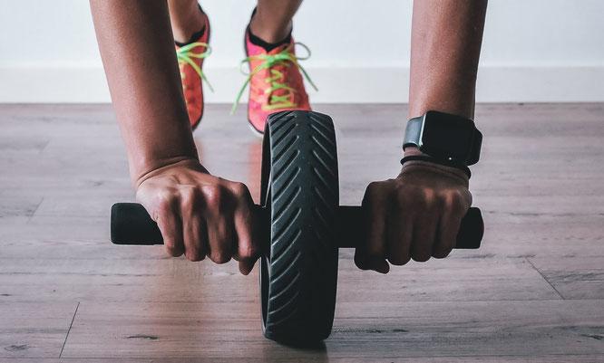 Ab Roller Training
