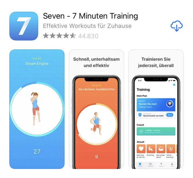 Seven - 7-Minuten-Training