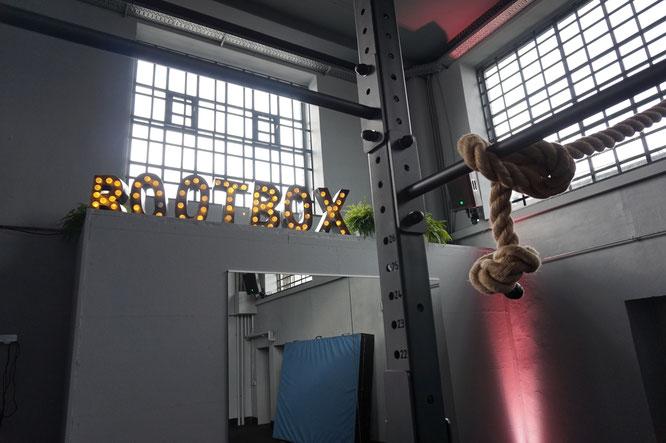Trainingsraum der Bootbox in Köln-Ehrenfeld