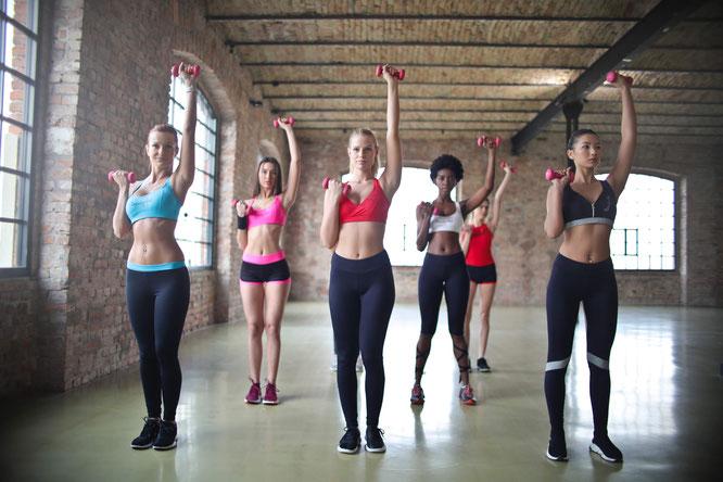 Frauen-Fitness in Düsseldorf