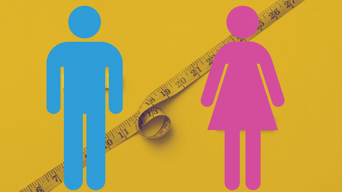 Brustumfang messen bei Mann und Frau