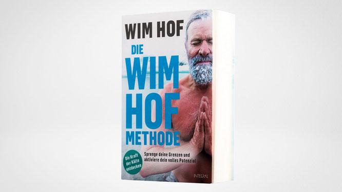 """Autor Wim Hof mit dem Buch """"Die Wim-Hof-Methode"""""""