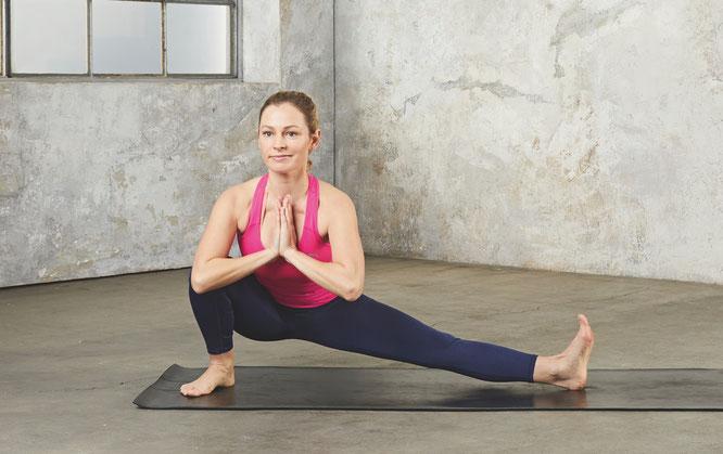 Sarah Stork, Schauspielerin und Yoga-Lehrerin
