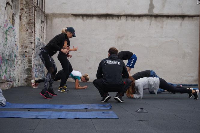 Bootcamp in der Bootbox Köln