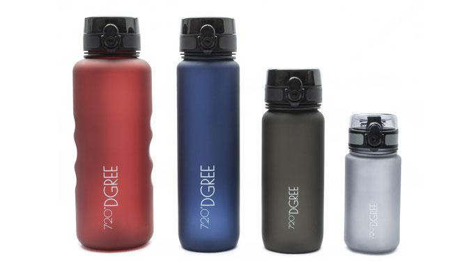 720DGREE-Trinkflaschen in verschiedenen Größen