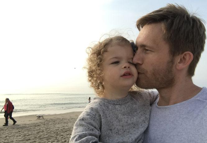 Sebastian Priggemeier und Tochter Lene