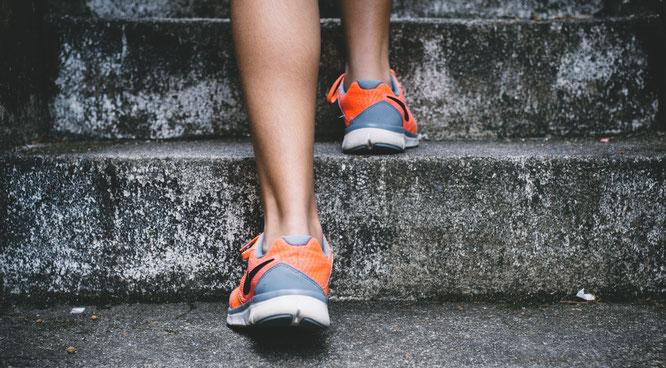Fitness-Life-Hack Treppensteigen