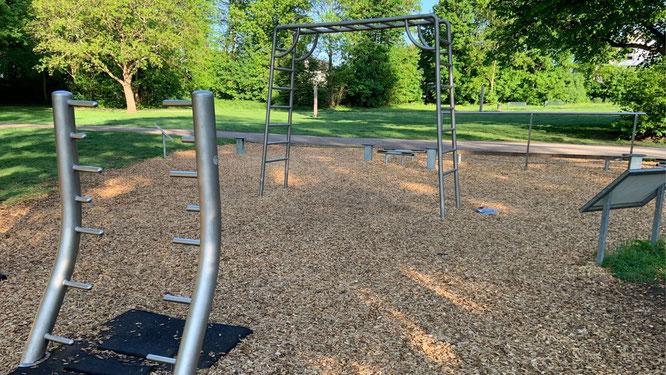 Fitnessanlage im Beethovenpark