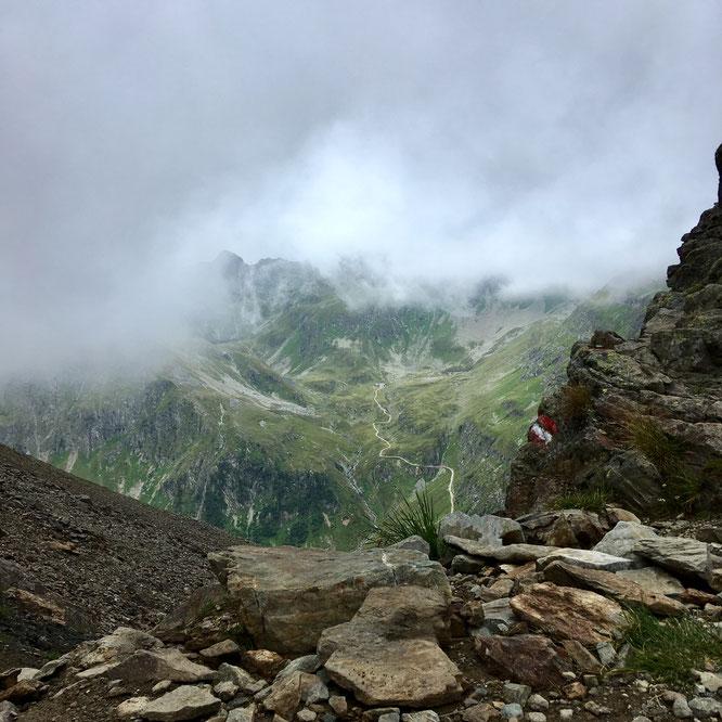 Gollingscharte, Nebel