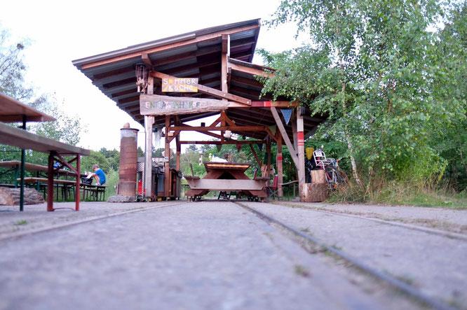 Outdoor-Küche Wilde Heimat Campingplatz Fürstenberg