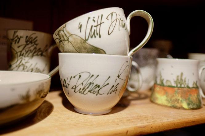 Havelland-Keramik, Tassen