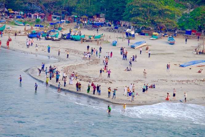 Kochi Kerala Indien Strand