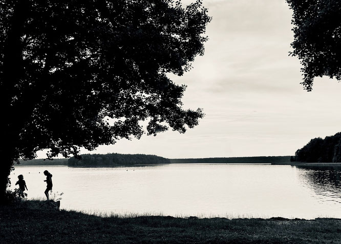 Großer Stechlinsee, Ruppiner Seenland, Brandenburg