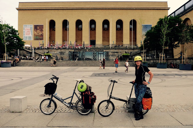 Faltrad, Göteborg, Kunstmuseum, Schweden