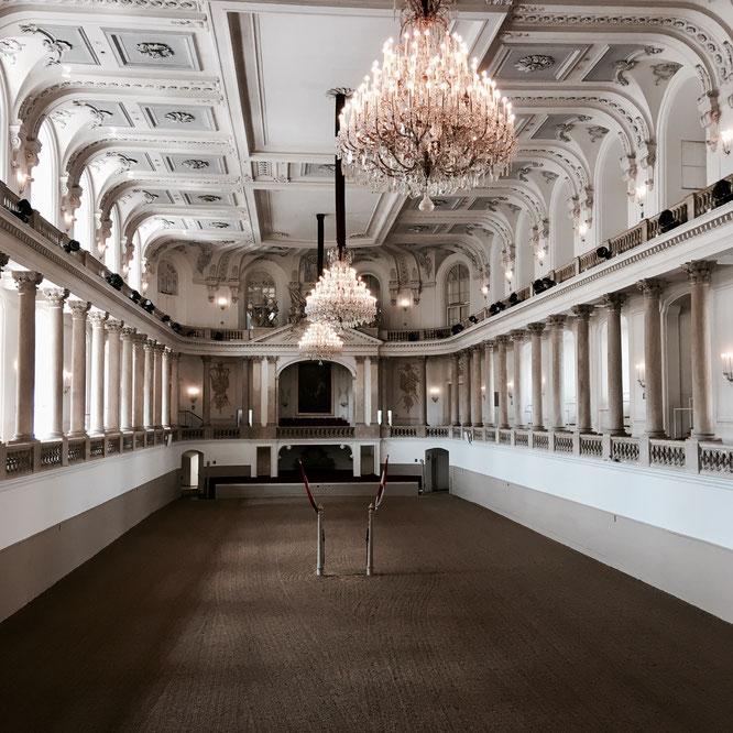 Wien, Hofreitschule, Reithalle