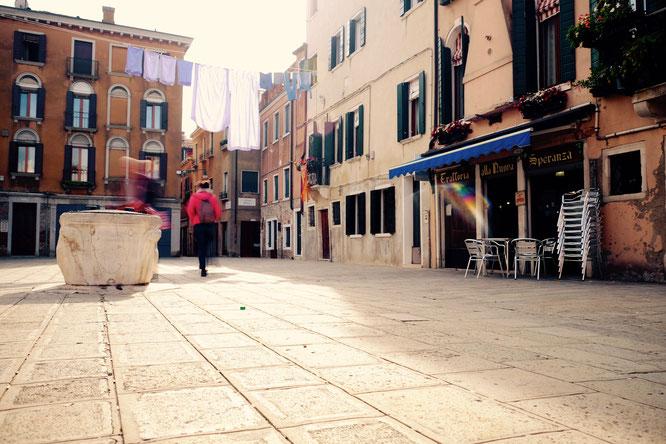 Trattoria alla Nuova Speranza, Campo Ruga, Venedig