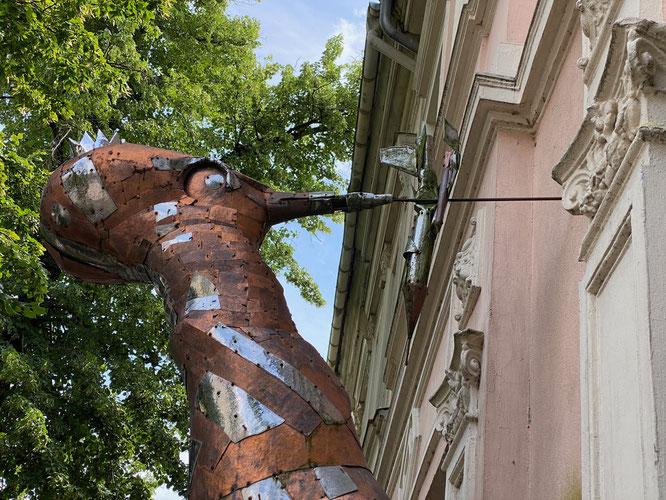 Kunst von Tony Torrilhon, Specht, Rheinsberg, Ruppiner Seenland, Brandenburg