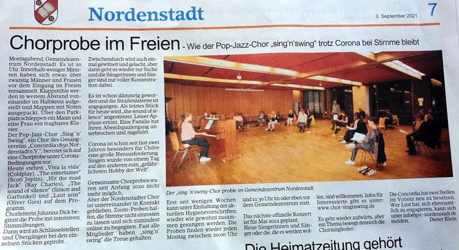 Quelle: Erbenheimer Anzeiger , Erschienen am: Freitag, 3. September 2021  Text und Bild: Dieter Klein