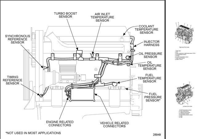 freightliner truck injector wiring diagrams  wiring diagram
