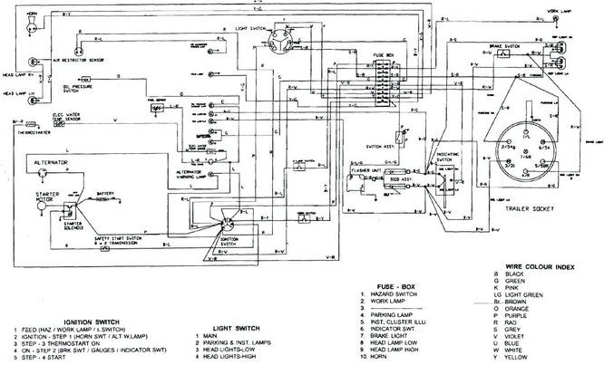 John Deere Lawn Mower Diagram Of Motor And Starter Wiring - Collection
