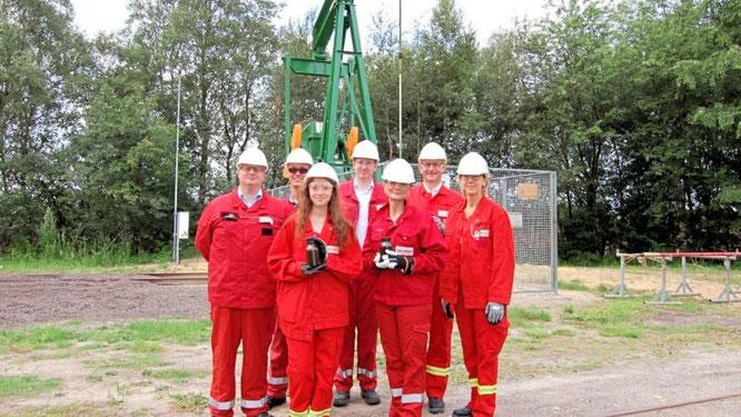 Die CDU-Bundestagsabgeordnete Gitta Connemann hat sich in Rühlermoor über die Ausbaupläne von ExxonoMobil informiert. Foto: CDU / Bericht: Meppener Tagespost