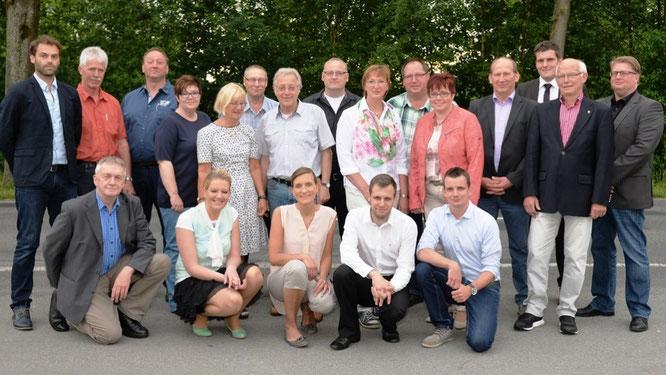 Kandidaten der CDU-Twist für die Kommunalwahl Foto: Meppener Tagespost (M. Fickers)