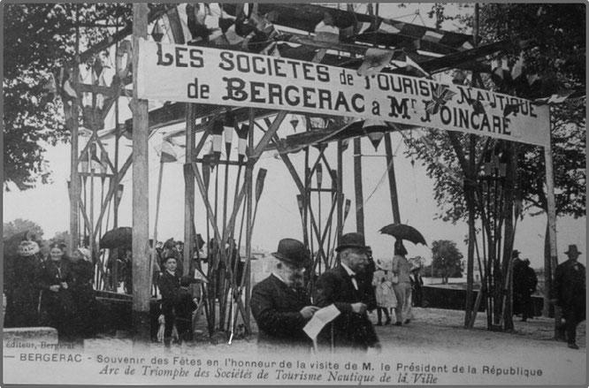 Visite du Président de la République Raymond Poincaré en 1919