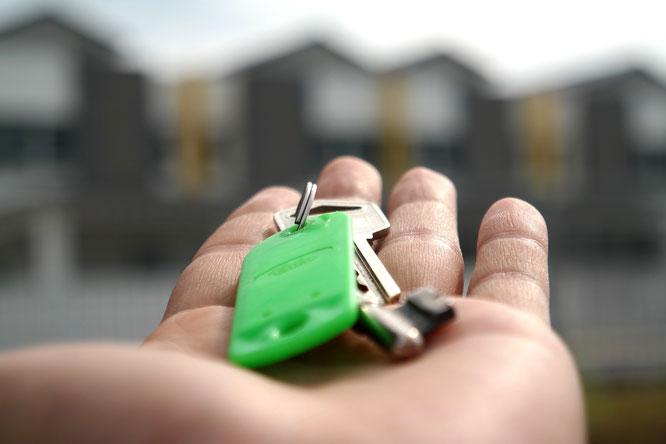 Wohnung - Schlüsselübergabe