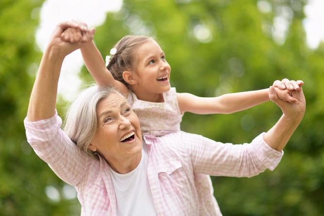 Oma & Enkelin