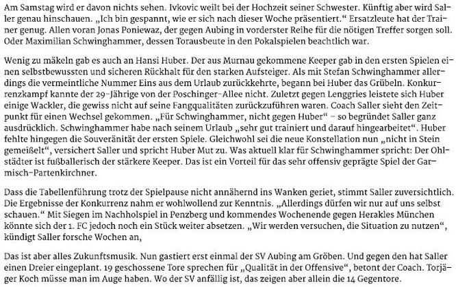 Garmischer Tagblatt vom 09.09.2017