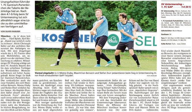Garmischer Tagblatt vom 21.08.2017