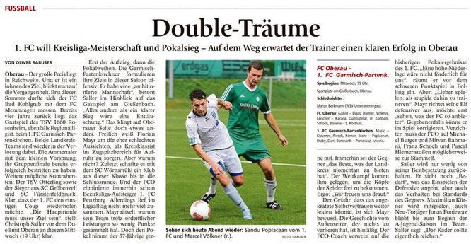 Ga-Pa Tagblatt vom 07.09.2016