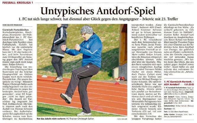 Ga-Pa Tagblatt vom 27.03.2017
