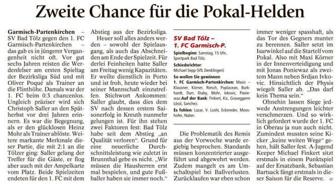 Ga-Pa Tagblatt vom 10.09.2016