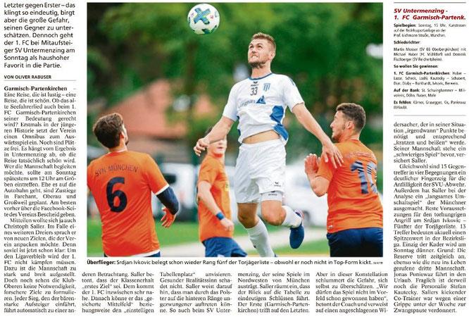 Garmischer Tagblatt vom 20.08.2017