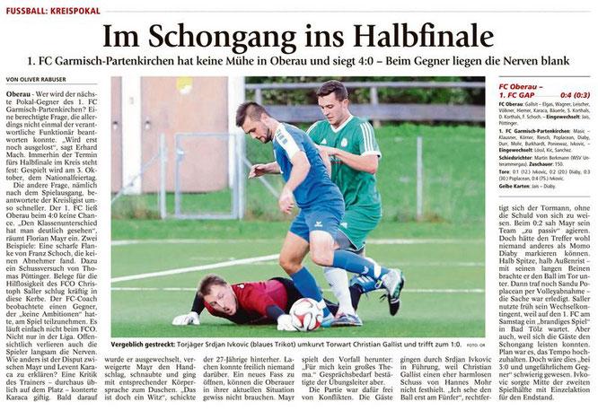 Ga-Pa Tagblatt vom 08.09.2016