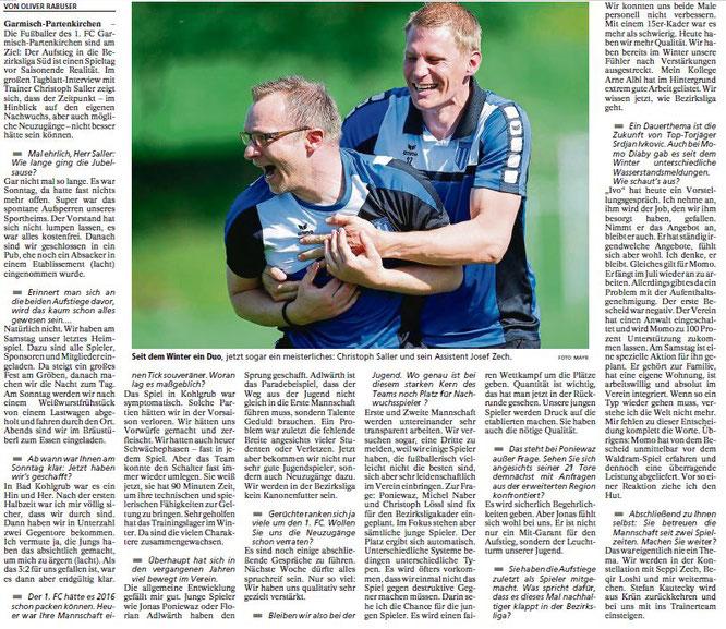 Garmischer Tagblatt vom 30.05.2017