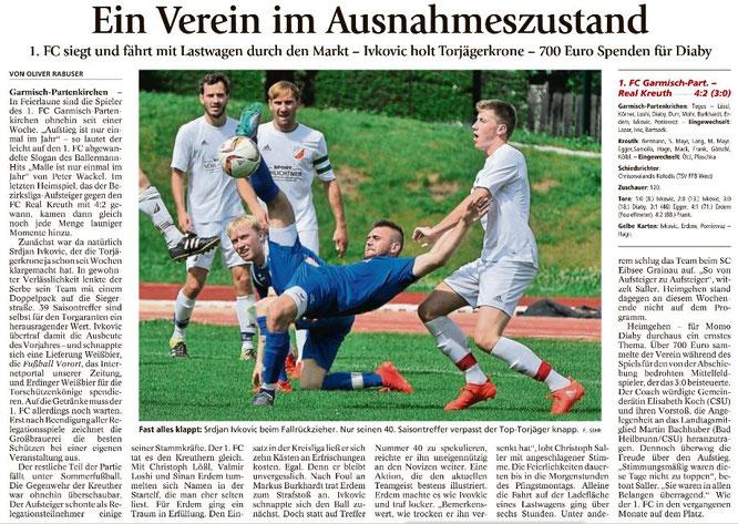 Ga-Pa Tagblatt vom 06.06.2017
