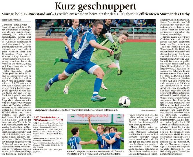 Ga-Pa Tagblatt vom 22.05.2017