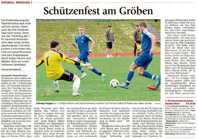 Ga-Pa Tagblatt vom 03.04.2017