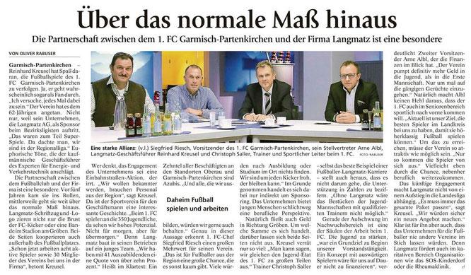 Garmischer Tagblatt vom 10.01.2018